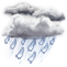 Weather Icon: déšť